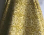 Organic Ripple CANVAS in Green from Rain Walk Collection for Cloud 9 Fabrics - ONE YARD Cut