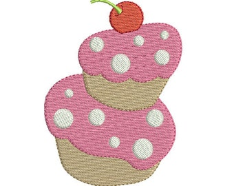 Embroidery design machine Cake instant download