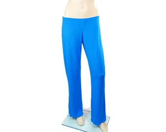 Lounge Pajama Pants-Choice of Hand Dyed Bamboo/Organic Cotton or Beechtree Jersey-Made to Order-Custom Size&Color-XXS through All Plus Sizes