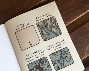 QUIET and SMALL - A comic book zine
