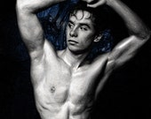 Adonis Gay Art Male Art Print by Michael Taggart Photography muscle muscles muscular strong abs