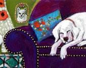 It's OK to Take a Nap - 12x3 Fine Art Giclee Print