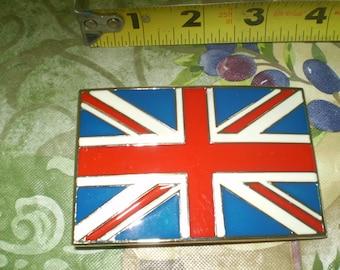 New Union Jack Belt Buckle