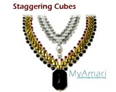 Instant Download Staggering Cubes- Necklace Bracelet Set Tutorial
