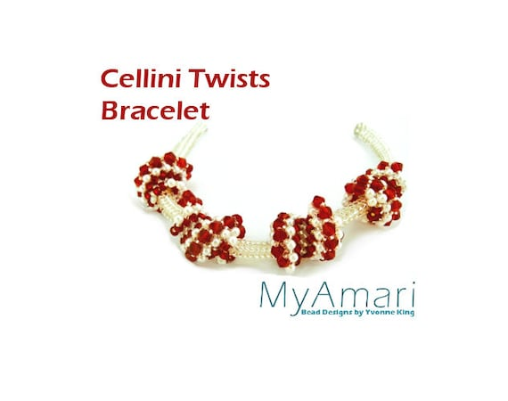 Instant Download Cellini Twists Bracelet Tutorial