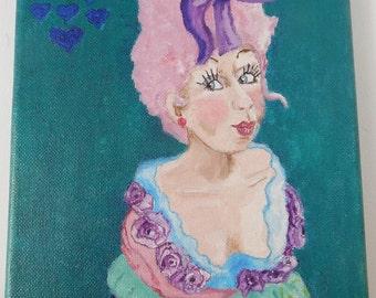 LILAC LIL Original Oil Painting *SALE*