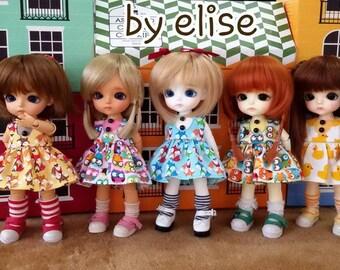 Lati yellow dress doll & pukifee