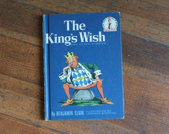 Vintage Children's Book - The King's Wish and Other Stories (Beginner Book - 1960)