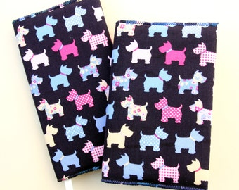 Scottie Dogs 2017 / 2018 Academic Diary & Notebook / Journal Gift Set