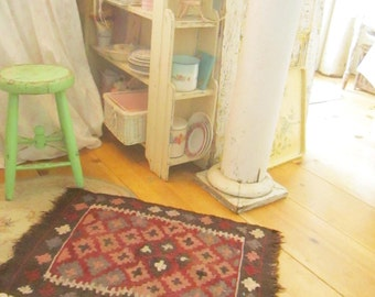 Indian rug bohemian Gypsy style   shabby chic prairie cottage