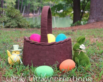 Felt Easter Basket - Pick Your Color