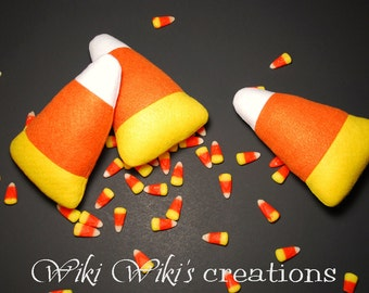 Plush Felt Candy Corns- Pack of 2