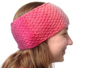 Ear Warmer, Boho Knitted Headband, Hand Knit Ear Warmer, Hipster Headband, Women Earwarmer, Teen Hipster Earwarmer, Hand Knit Boho Headband