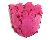 Valentine Nagorie Feather Pad - Set of 2 - Pink with Red Valentine's Day Inspired