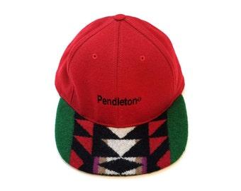 SALE - Vintage Pendleton Strap Back Cap #6