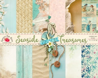 Seaside Treasures Paper Set