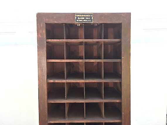 Apothecary Card Catalogue Storage Furniture Mid By Thenewtonlabel