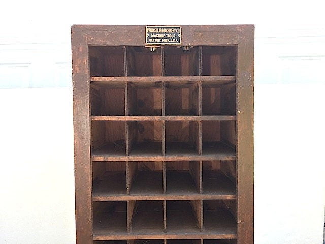 Apothecary Card Catalogue Storage Furniture Mid Century Hardware Store Industrial Apothecary