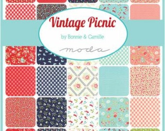 Vintage Picnic - Collector's Bundle - Bonnie and Camille for Moda - 55120 CB