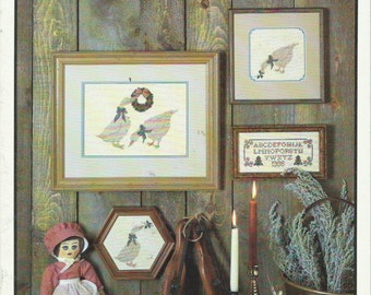 """Cross Stitch Pattern """"Another Gaggle"""" by Me + Ewe Collection (1986)"""