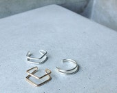 Ear Cuffs, geometric jewelry, simple design