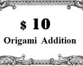 1 Dollar Bill - Surprise Ball Money Origami Addition