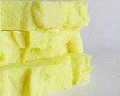 Lemon Cold Prcoess Soap - Essential Oil Soap - Lemon Soap