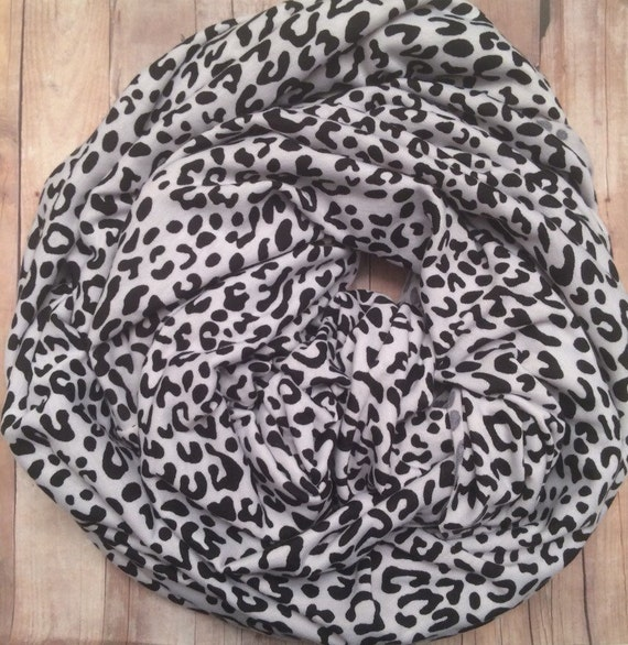 CHEETAH NURSING SCARF