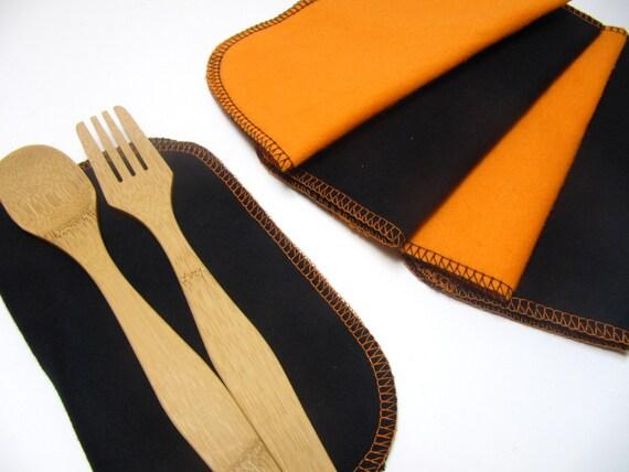 Items similar to cloth napkins 5 halloween napkins for Halloween cloth napkins