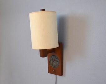 Rare Mid Century Martz Wall Sconce Lamp - Marshall Studios