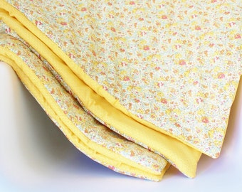 Blanket Liberty Claire Aude Pastel and yellow - ON ORDER