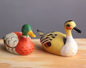 2 Duck Pencil Sharpeners - Water Fowl - Office Tools