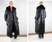 Reserved COURREGES Vtg Quilted Down Coat