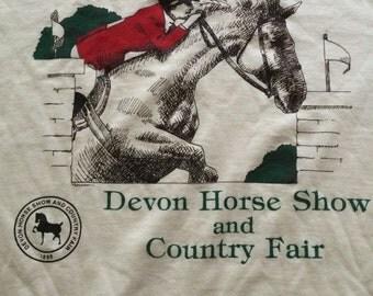 Vintage Horse and County Fair Tshirt