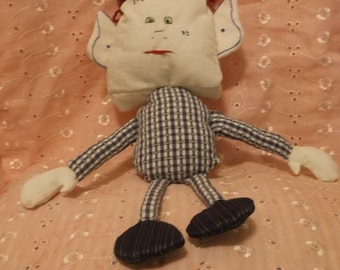 Mr. Blockhead Rag Doll