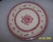 Lovely Vintage Decorative Plate, Made In Finland