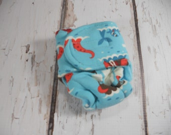 Baby doll diapersTeddy Animal Cloth Diapers Snap Euro Pirates Dragon