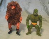 "Grizzlor and Moss Man from He-Man and the Masters of the Universe ""MOTU"""
