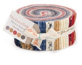 LAST ONE!!  Polka-Dots and Paisleys Jelly Roll by Minick & Simpson for Moda Fabrics