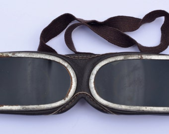 1930s Motorcycle Riders Goggles Vintage Racing Drivers Glasses Vintage Goggles Antique Goggles Vintage Goggles Motor Racing Formula 1 Nascar
