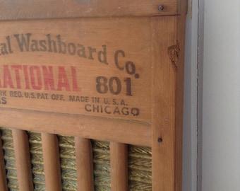 Vintage National Washboard Co. No. 801