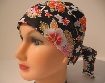 Adjustable Pixie Style Surgical Scrub Hat