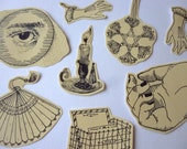 Pretty things sticker set (pack of 8)