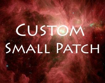 Custom Small Patch