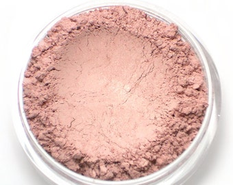 "Vegan Light Pink Blush - ""Free Spirit"" soft baby pink with shimmer Net wt 4.5g"