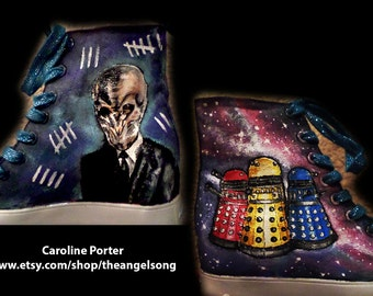 Dr. Who Custom Shoes