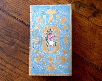 Custom Journal, Travel Diary, Unique Gift Writer, Pregnancy, Anniversary Guestbook, Book Journal. Artist Sketchbook, Rebound Antique Book,