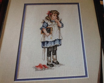 C- The Reluctant Scholar - YESTERYEAR - Cross Stitch Pattern Only