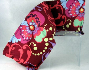 Microwavable Rice Heating Pad - Flower Motiff - Heating Pad - Amy Butler Fabric