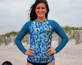 Rash Guard 'MERMAID' Style by Nalu Tribe